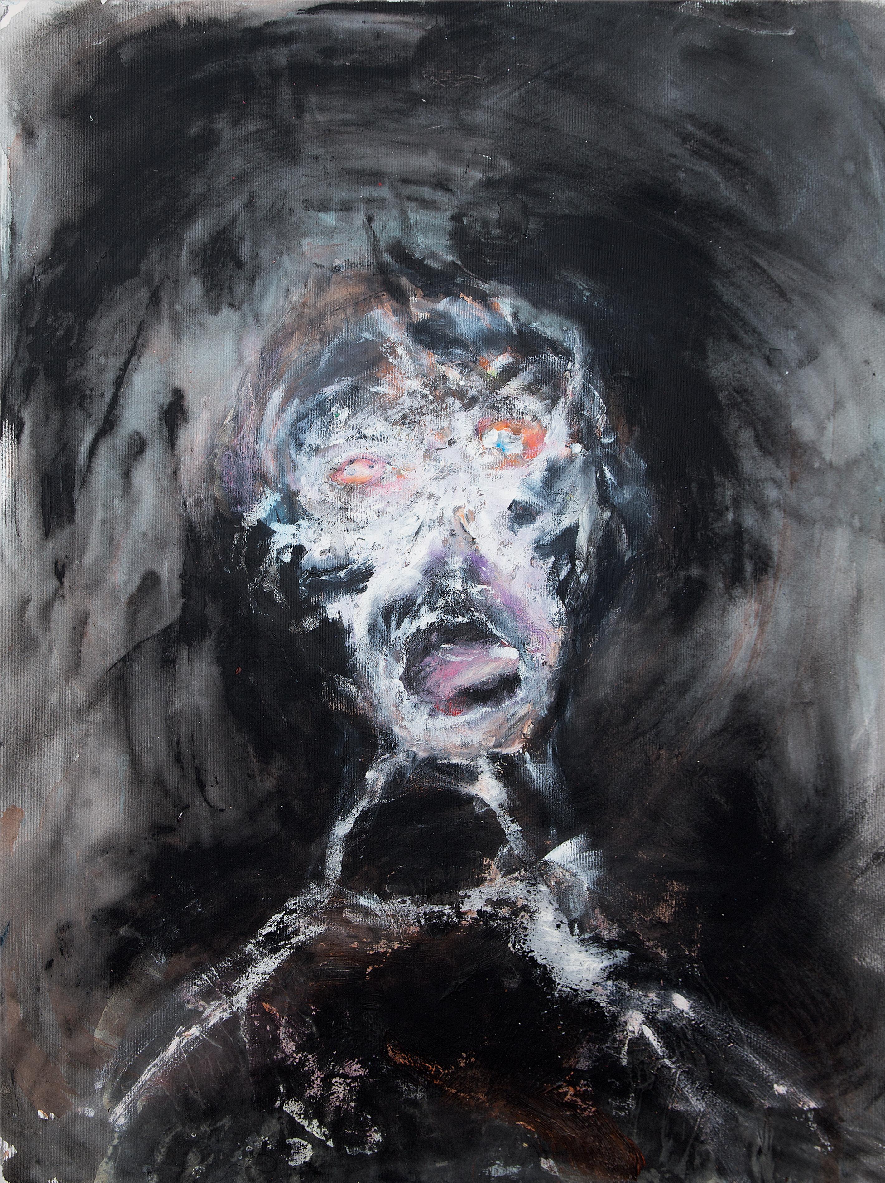 Andrew Litten artist dying man