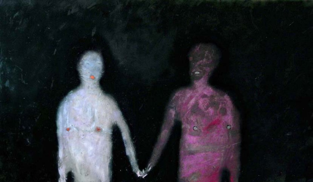 Mutual bodies Andrew Litten artist painting