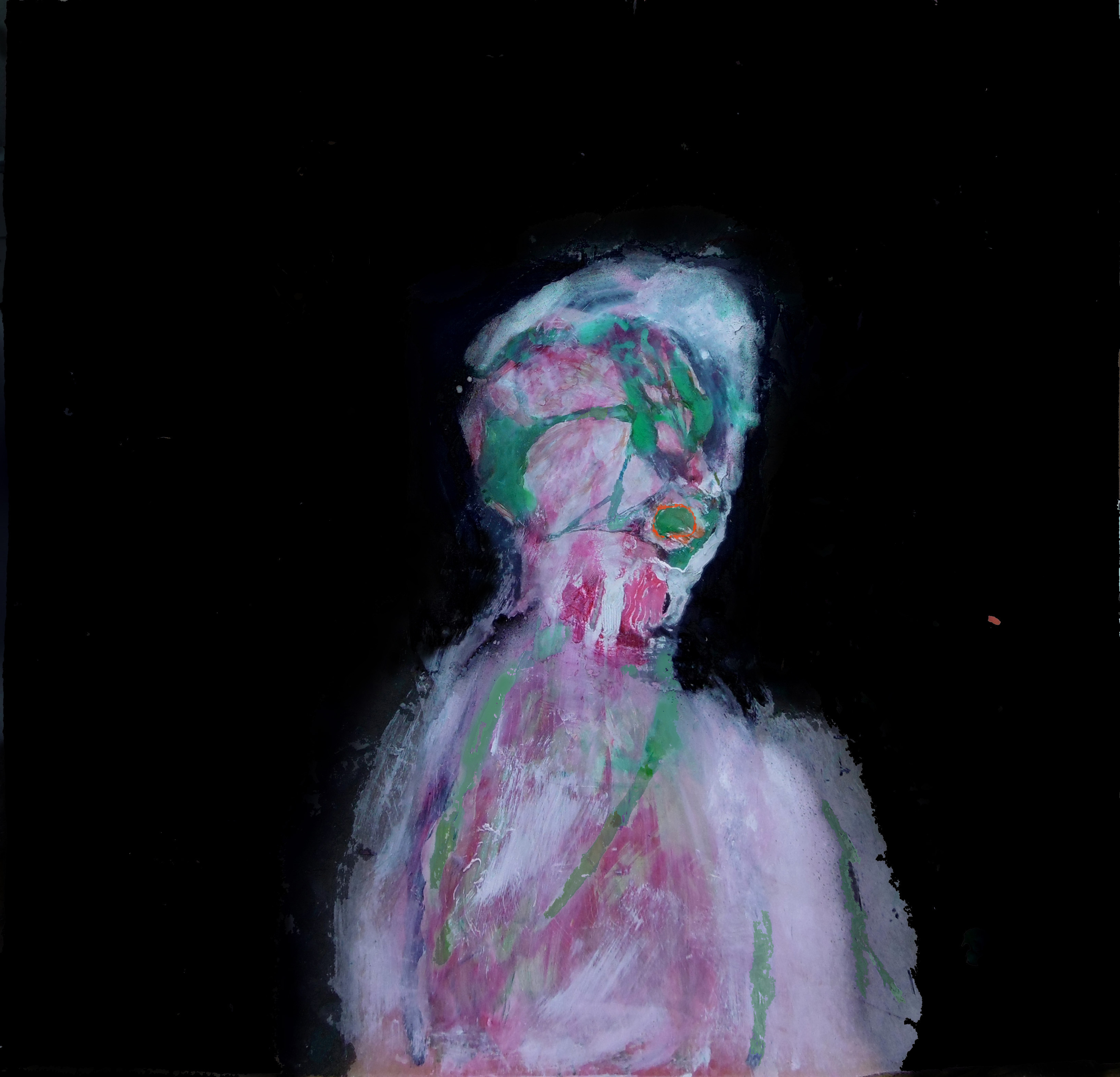 litten mask painting artist